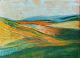 Early summer 066 by Jeff Hoare, Drawing, Pastel on Paper