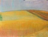Early summer, France 065 by Jeff Hoare, Drawing, Pastel on Paper