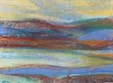 Midi-Pyrenees 067 by Jeff Hoare, Drawing, Pastel on Paper