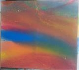 Rainbow seas by Jeff Hoare, Painting, Acrylic on canvas